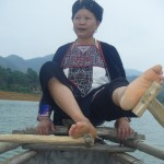 Les Dao de Vu Linh rament avec les pieds, pratique!